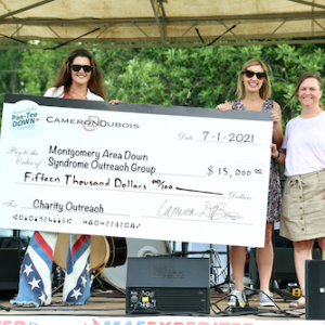 Cameron DuBois' Par-Tee Down Classic Raises $15,000 For Montgomery Area Down Syndrome Outreach Group At Inaugural Event