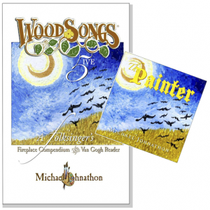 Physical & Digital Review Copies Now Available For 'WoodSongs 5: A Folksinger's Fireplace Compendium & van Gogh Reader'